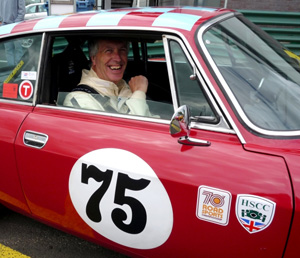 Jim Nairn in his 2000GTV (photo J. Griffin)