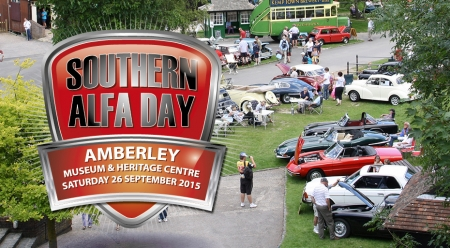 Southern Alfa Day, Sunday 26th Sept. 2015, Amberley Museum