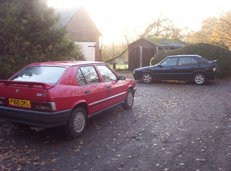 Pair of Series two 33 TIs - basic and veloce