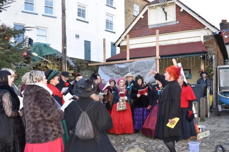 The local Victorian Weekend at Robin Hood's Bay