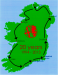 AROC Ireland Route Map