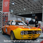 Roz Shaw's GTAm at Race Retro (photo Ken Carrington)